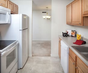 Kitchen, Stone Ends Apartments
