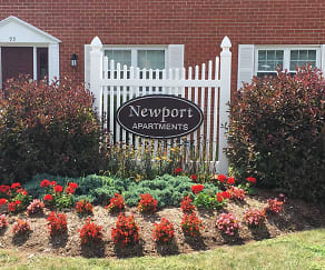 Community Signage, Newport Apartments