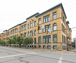 Building, School House Apartments
