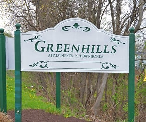 Community Signage, Greenhills Apartments and Townhomes