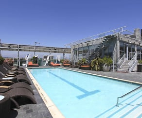 Pool, Ten Ten Wilshire All Inclusive Living