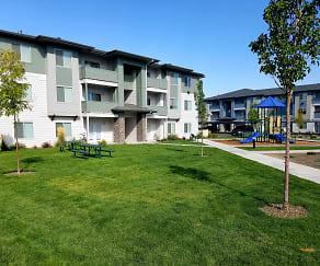 Building, Easton Village Apartments
