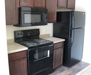 Kitchen, Brickgate Apartments