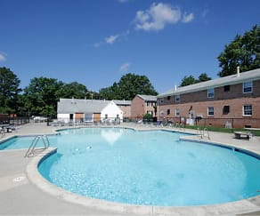 Pool, Morningside Townhomes & Apartments