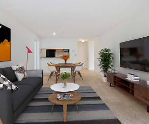 Living Room, The Avondale Apartments