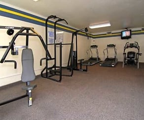 Fitness Weight Room, Park Sierra