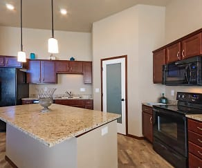 Kitchen, Maple Grove Townhomes