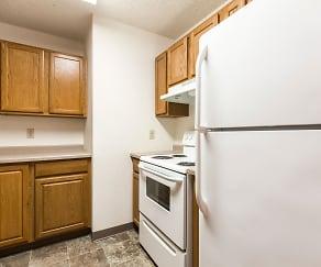 Kitchen, Riverpark Apartments