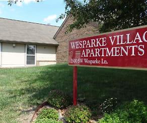 Community Signage, Wesparke Village Apartments