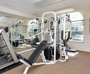 Fitness Weight Room, Sky Terrace