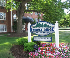 Community Signage, Forest Ridge