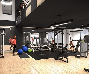 Fitness Weight Room, The Link- Per Bed Lease