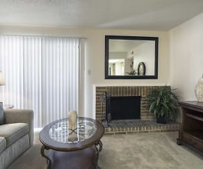 Living Room, Raintree Apartments