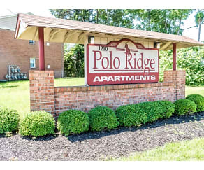 Community Signage, Polo Ridge Apartments