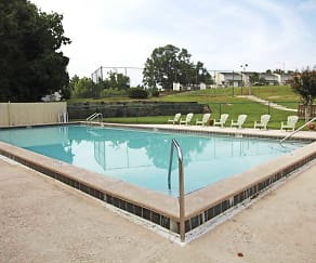 Pool, Creekside I & II Apartments