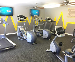 Fully Equipped 24-Hour Fitness Center, Cypress Lake