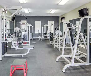 Fitness Weight Room, The Social Campus
