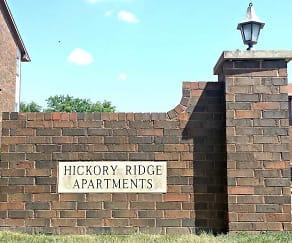 Community Signage, BBH Ames Management (Hickory, Alpine, Oakwood)
