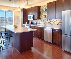 Kitchen, Flux Apartments