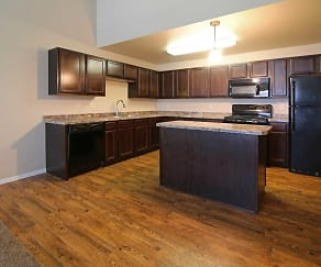 Kitchen, Mallard Heights Apartments