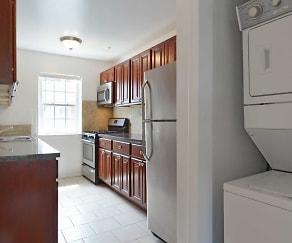 Kitchen, Hampshire Terrace Apartments