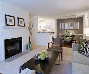 Living Room, Avalon at Lexington