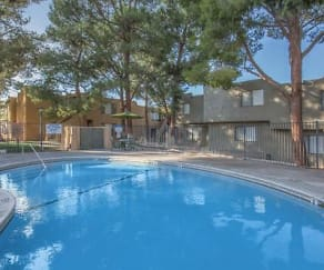 Pool, Montara Apartments
