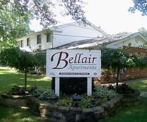 Community Signage, Bellair Apartments