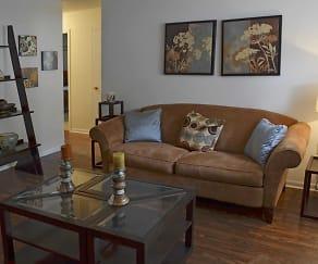 Living Room, Kenridge Apartments