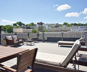 Patio / Deck, The Box District
