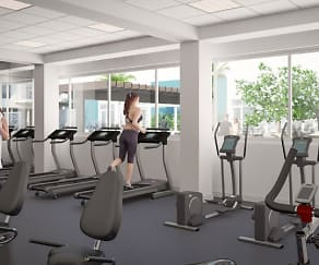 Fitness Weight Room, Apex 1100