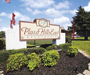 Community Signage, Plaza Hills East