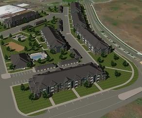 Salish Flats, Westwood Middle School, Spokane, WA