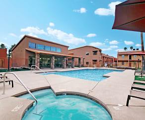 Pool, Casa Presidio Apartments