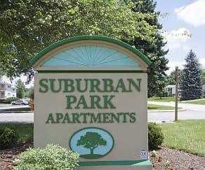 Suburban Park, Helen Thackston Charter School, York, PA