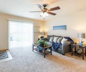 Living Room, Prosser Place Estates
