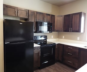 Kitchen, Claradon Village Apartments