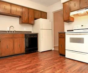 Kitchen, Nottingham Apartments