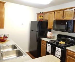 Kitchen, Catawba Apartments