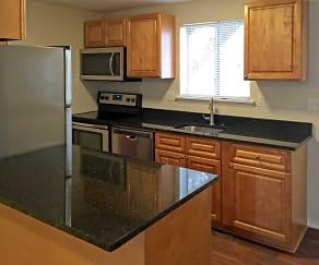 Kitchen, Summit and Birch Hill Apartments