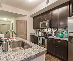 Kitchen, Orchid Run Apartments