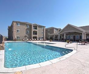 Pool, Gold Creek Apartments
