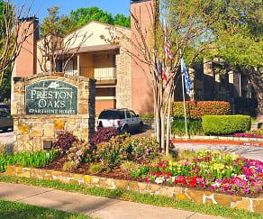 Community Signage, Preston Oaks