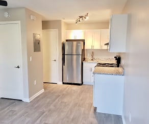 Kitchen, Hawk Ridge Apartments