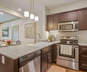 Modern kitchen, Vance Station Apartment Homes