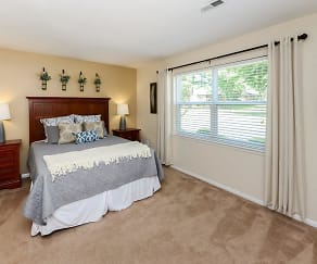 Bedroom, Sherwood Village Apartment Homes