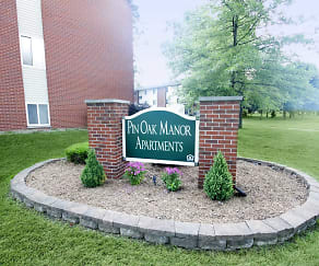 Community Signage, Pin Oak Manor /The Reserve at Pin Oak