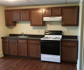 Kitchen, Williamsport Apartments