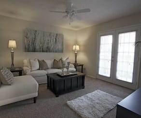 Living Room, Cimarron Ridge Apartments
