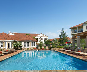 Resort-style saltwater heated pool, Cordillera Ranch